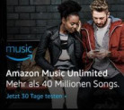 AMAZON Music unlimited – 30 Tage GRATIS