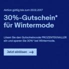 30% auf Wintermode bei Ebay